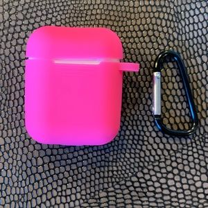 Hot Pink Airpods Case